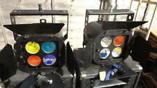 More details for njd quartet 300  x2  in flight case disco band lights