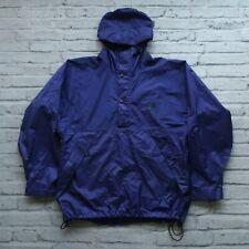 Vintage North Face Goretex Mountain Parka Pullover Jacket Purple Ripstop Anorak