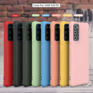Case For Samsung Galaxy S20 FE 5G Cover Shockproof Flexible Silicone Soft Cover