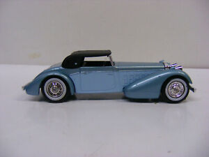 Matchbox Models Of Yesteryear Y17 1938 Hispano Suiza Blue Guards Lesney