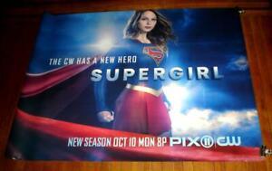 CW SUPERGIRL SEASON 2 2016 5FT SUBWAY POSTER Melissa Benoist