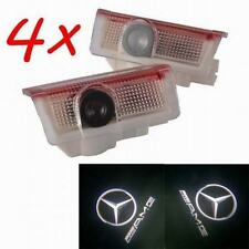 4x Good Door Led Laser Projector for Mercedes AMG A B C E M GL class W205 W212
