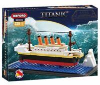 Oxford Titanic Building Brick Model Kit BM3524 225 pieces