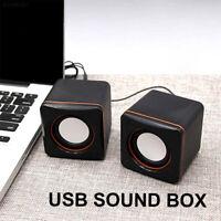 91E9 USB2.0 Laptop Soundbar Computer Speaker Desktop PC MP3 Computer Tablet