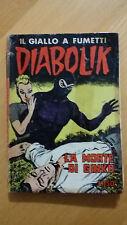 DIABOLIK seconda serie n.16 / 1965  La morte di Ginko  ORIGINALE  Sodip