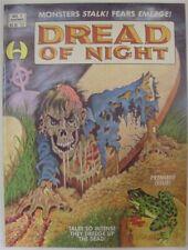 DREAD OF NIGHT 1 BRUCE HAMILTON COMIC COLE BREWER REESE MORROW MILLER 1991 VF+