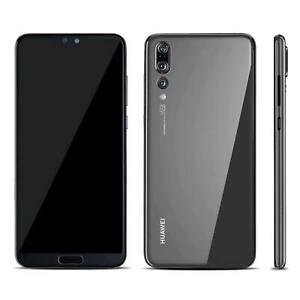 Huawei P20 Pro 128gb -6GB RAM-Unlocked- Smartphone- Black -(CLT-L09)