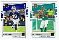 2020 Donruss Football CANVAS Rated Rookie RC - Complete Your Set You Pick!