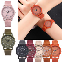 Luxury Women Casual Leather Band Quartz Analog Watch Waterproof Wrist Watches