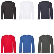 2er PACK,Herren,Longsleeve,T-Shirt,Baumwolle Männer Unterhemd,Langarm,M - 5XL