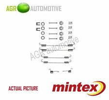 MINTEX REAR BRAKE SHOES SET FITTING KIT PIN SPRINGS GENUINE QUALITY - MBA747