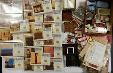 Doll House Furniture & Accessories Lot House of Miniatures 20+ Boxes + Acc