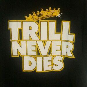 Vintage UGK TRILL NEVER DIES- RIP Pimp C Shirt Men's 2XL