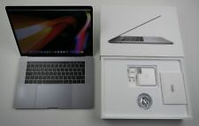 """Apple MacBook Pro Retina 15,4"""" TOUCHBAR i7 2,6 Ghz 256 GB SSD 16 GB Ram MLH32D/A"""