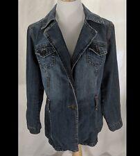 Ashley Stewart Blue Jean Jacket Size 14W