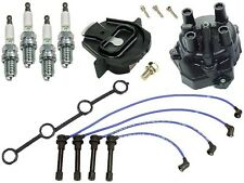 Ignition KIT YEC Cap & Rotor+4 Plugs+Wire Set KA24D for Nissan Altima 2.4L