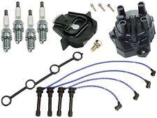 Ignition KIT YEC Cap & Rotor + 4 Plugs + Wire Set KA24D Fits Nissan Altima 2.4L