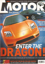 Motor May 02 9-5 Aero 911 turbo XR8 ute Mini Works Cooper Honda NSX 996 911