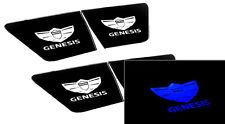 Inside LED Door Catch Plate Blue DIY Modul Kit 4p For 08 11 Hyundai Genesis