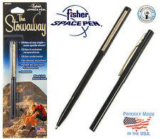 Fisher Space Pen #SWY/C / Black Stowaway Pen with Clip