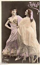 BE651 Carte Photo vintage card RPPC Femme woman Luz Chavita robe danse ballet