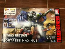 New Transformers Generations Titans Return Titan Class Fortress Maximus