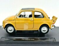 Model Car Scale 1:18 Fiat New 500 Car Model modellcar RC Model New