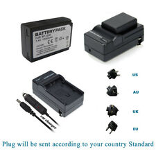 BP-1030 ED-BP1030 Battery+Charger for Samsung NX200 EV-NX200ZBSBUS Camera