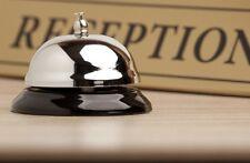 Campana de mesa timbre recepcion hotel comercio vintage retro