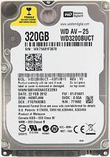 """Western Digital WD 3200 buct 320GB 2.5"""" SATA Unidad De Disco Duro Portátil HDD Garantía"""
