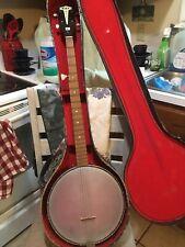Vintage Kay 5 String Banjo w hard case - Local Estate Find