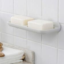 Bathroom Soap Storage Box Soap Holder Plastic Double Drain Rack Bathroom Fixture
