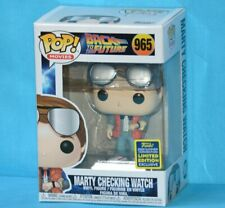Figura Funko Pop Marty Mcfly checking watch back to the future sdcc 2020