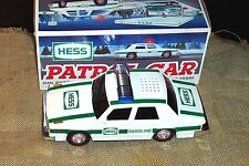 VINTAGE 1993 HESS TOY COMMEMORATIVE PATROL CAR GAS OIL ADVERTISING EUC