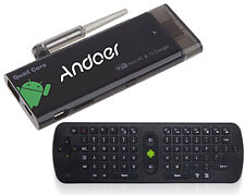 Andoer CX919 Android 4.4 Mini PC Smart TV QuadCore 16GB WiFi Measy RC11 Remote