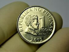 Philippines 1 piso 2012 year collectible coin money for collection #326