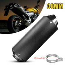 38mm ATV Off-road Motorcycle Exhaust Pipes Muffler Silencer For 90cc 110cc 125cc