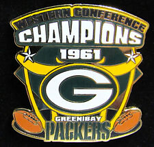 1961 Green Bay Packers Western Conference Champions Willabee Ward Pin Collection