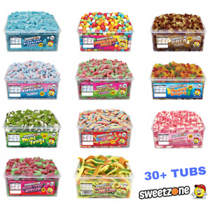 Sweetzone Halal HMC Sweets Tubs Largest Range Available 40+ Variety