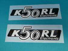 Hercules K50 RL Seitendeckel Sticker Schriftzug Dekor Aufkleber