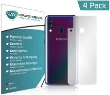Slabo Rückseite Schutzfolie für Samsung Galaxy A40 (4er Set) KLAR Crystal Clear