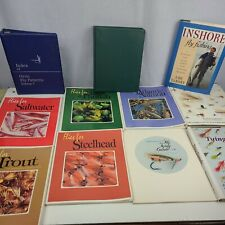 Fly Fishing book lot