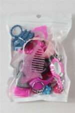 LOT Plastic bag glasses necklaces comb Crown Mixed ACCESSORIES For Barbie Doll