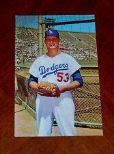 DON  DRYSDALE  Official 1960 DODGERS Postcard  LOS ANGELES COLISEUM  High Grade!