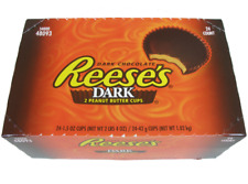 REESE'S Dark Chocolate Peanut Butter Cups, 1.5 Ounce (Pack of 24)