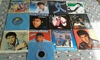 "13 X Shakin' Stevens 7"" Singles All Vinyl  EXCELLENT. 11 PIC SLEEVES See Images"
