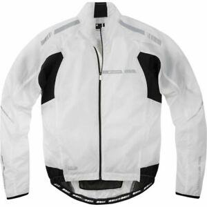 Madison Sportive Stratos Men's Showerproof Jacket - Medium - White - New