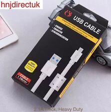 1.5m 3.1A carga rápida cable de carga USB de alta resistencia para Samsung Galaxy S4 S6 S7
