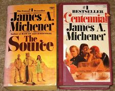 CENTENNIAL HB THE SOURCE PB  BY JAMES A. MICHENER HB PICTURE COVER FAWCETT BOOKS