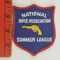 Vintage NRA National Rifle Association Summer League Shooting Gun Patch